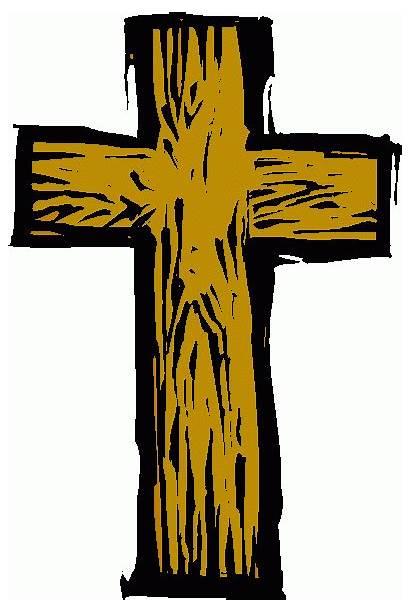 Cross Clipart Wooden Clip Crosses Cliparts Cartoon