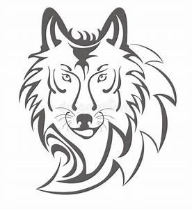 Symbole Du Loup : symbole de loup illustration de vecteur illustration du ~ Melissatoandfro.com Idées de Décoration