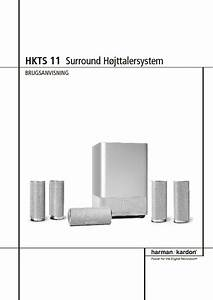 Harman Kardon Hkts 11  Serv Man2  User Guide    Operation