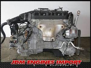 98 99 2000 2001 2002 Honda Accord 4 Cylinder 2 3 Sohc Vtec Engine Long Block Jdm F23a Motor