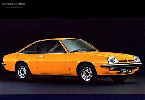 Opel Manta Specs 1975 1976 1977 1978 1979 1980