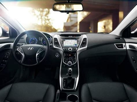 2014 Hyundai Elantra Interior by 2014 Hyundai Elantra Sedan Interior Black Leather Cars