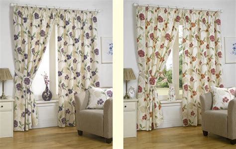 Floral Curtains Ready Made by Luxury Floral Designer Ready Made Fully Lined Curtains
