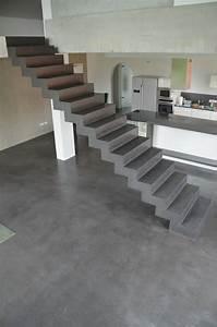 Beton Cire Treppe : beton cire oberfl chen in beton look oktober 2012 houses living pinterest beton cire ~ Indierocktalk.com Haus und Dekorationen