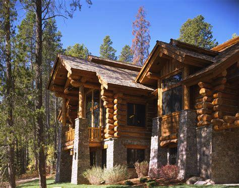 granite ridge log cabin teton heritage builders