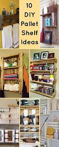 10 DIY Wood Pallet Shelf Ideas 1001 Pallet Ideas