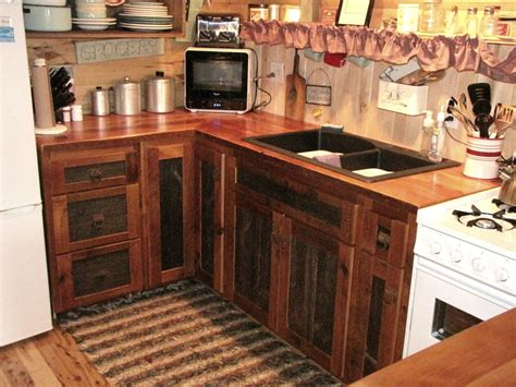 kitchen furnitur reclaimed barnwood kitchen cabinets barn wood furniture