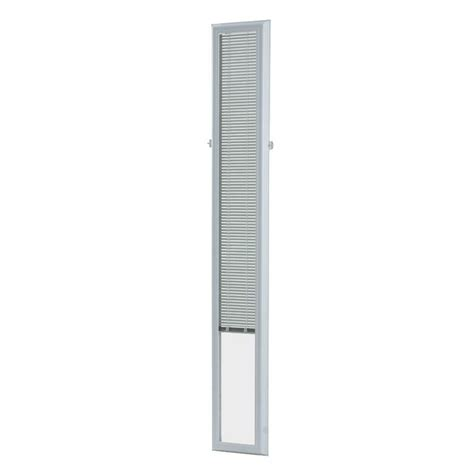 odl add on blinds odl 7 in x 64 in add on enclosed aluminum blinds in