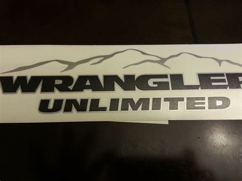 mountain jeep logo jeep mountain wrangler unlimited cj tj yk jk xj all colors
