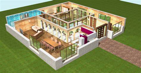 Home By Me : Plan 3d Pour Maison