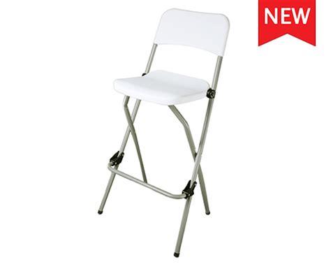chaise de bar pliante chaise pliante haute bar lot de 2 pcs table chaise