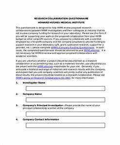research questionnaire template word wwwpixsharkcom With questionair template