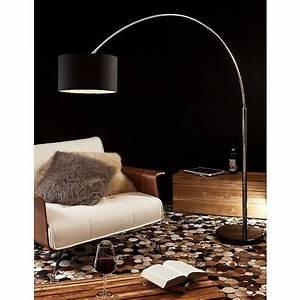 Stehlampe Für Wohnzimmer : salesfever bogenlampe schwarz gro alumi f r 199 00 moderne stehlampe livingroom ~ Frokenaadalensverden.com Haus und Dekorationen