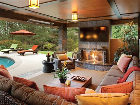 special section  outdoor room design ideas hearth