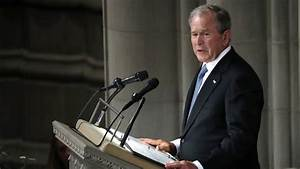 George W. Bush's Eulogy for John McCain: Full Text - The ...