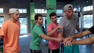 Go Team Teamwork GIF by The Dude Perfect Show - Find ...