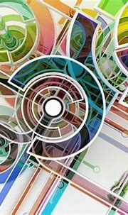Wallpaper : 1500x1000 px, 3D, abstract, circle, colorful ...