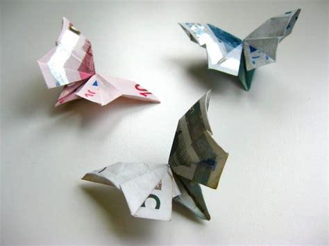 origami geldschein schmetterling video anleitung handmade kultur