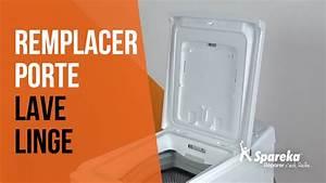 Machine A Laver Ne Vidange Plus : comment remplacer la porte de votre lave linge youtube ~ Melissatoandfro.com Idées de Décoration
