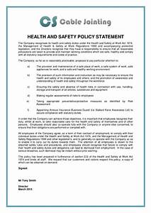 Hse Health And Safety Policy Template 23 Images Of HSE Policy Statement Template