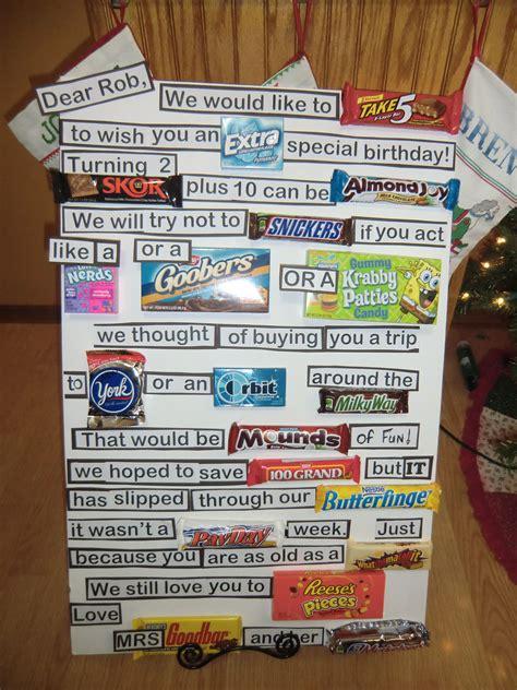 candy bar message party stuff pinterest candy bar
