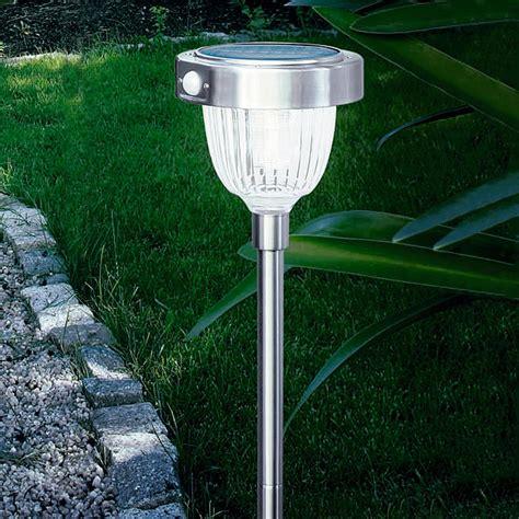 Solarleuchten Mit Bewegungsmelder Garten Glas