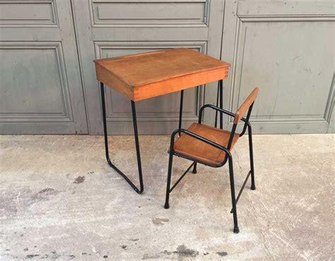 chaise bureau vintage ensemble bureau et chaise enfant vintage