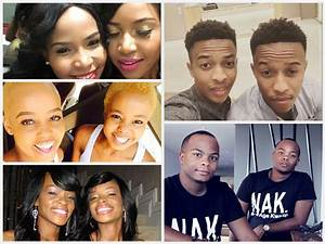 Top 5 South African Celebrities Identical Twins