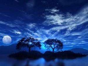 SUN SHINES: blue sky wallpaper
