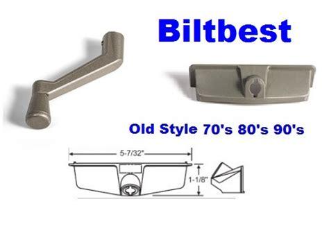 style wood casement window operator cover  handle set biltbest window parts