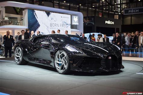 Geneva 2019: 1 of 1 Bugatti