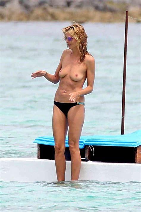 Nackte Heidi Klum In Beach Babes