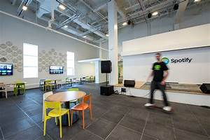 Inside Spotify's Colorful and Open NYC Offices - Office ...