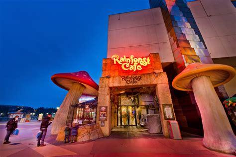 rainforest cafe review disneyland paris tips advice planning