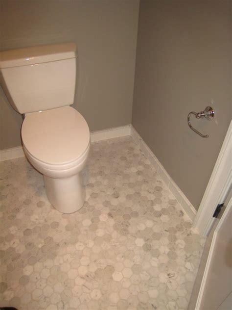 Marble Floor Tile  Traditional  Bathroom Philadelphia
