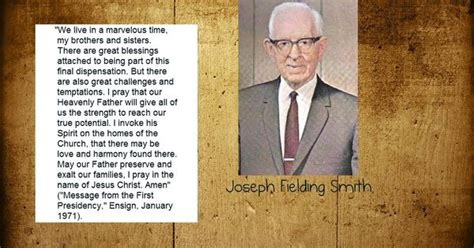 Joseph Smith Meme - quote by joseph fielding smith meme s pinterest thoughts lds mormon and inspirational