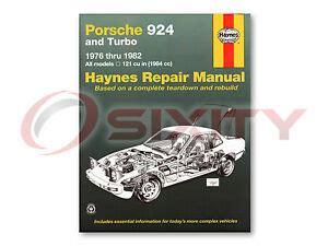 hayes car manuals 1987 porsche 928 free book repair manuals porsche 924 haynes repair manual base turbo shop service garage book dv ebay