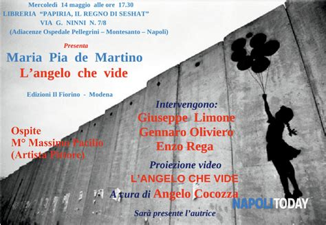 libreria martino napoli presentazione libro l angelo vide eventi a napoli