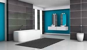 prix et devis du carrelage de salle de bain pose et peinture With prix travaux salle de bain