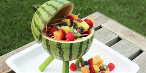 idee dessert apres barbecue diy la past 232 que mini grill pour vos brochettes de fruits
