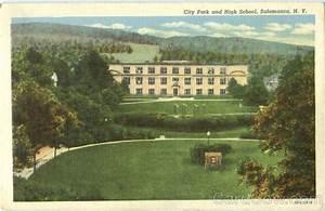 City Park And High School Salamanca, NY