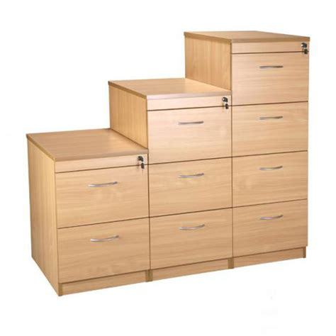 drawers kitchen cabinets filing cabinets available in light oak or beech wooden 3462