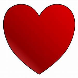 Printable Red Heart Clipart (70+)