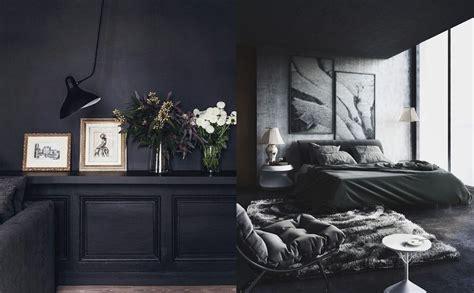 stunning  black interiors home decor singapore