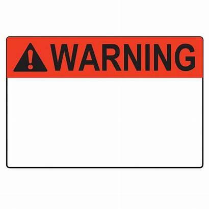 Warning Blank Label Sign Template Meme Clip