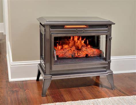 comfort smart jackson bronze freestanding infrared stove