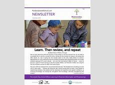 Newsletter, November 2018 Maimonides Jewish Day School