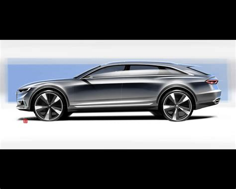 Audi Prologue Allroad Hybrid Plug In Concept 2018