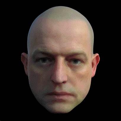 Human Head Gifs Disconcerting Dissolve Digitally Deconstructed