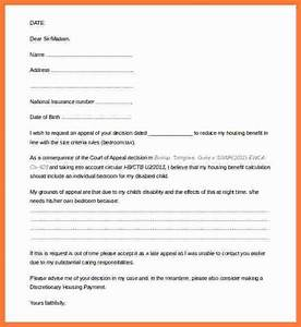 5 appeal letter format marital settlements information With 2016 tax organizer letter